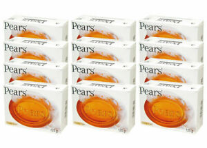 Pears Transparent Amber Soap with Natural Oils Gentle Care 125 g (Pack of 12)