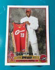 2003-04 Topps Lebron James Rookie #221
