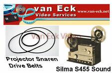 Silma S455 Sound belts - 3 belt set (motor, counter, top belt)  (BT-0508-MCT)