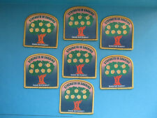 7 Lot of Girl Scouts Badges Patches GSUSA BSA BSC WSB Merit Camp #13