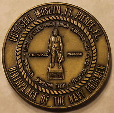 Navy Special Warfare UDT / SEAL Naked Warrior Navy SEAL Museum Challenge Coin