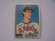 Mike Witt ROOKIE CARD #744 (Lot of 5) 1982 Topps Baseball  ANGELS