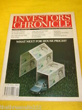 INVESTORS CHRONICLE - NEXT FOR HOUSE PRICES - MARCH 1 1991