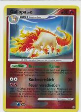 Gallopa lv.43 - KP80 - 22/100 -  Stern Holo Karte - Pokemon Sturmtief Serie