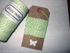 10mt Green Apple' DIVINE BAKERS TWINE   Packaging Parties Embellishment
