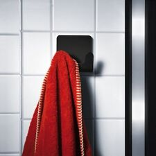 Puro Handtuchhaken schwarz radius design Handtuchhalter Haken Badhaken