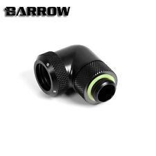 """Barrow G1 / 4 """"NERO OPACO 90 GRADI COMPRESSIONE ROTANTE DA 14 MM PER TUBO RIGIDO -17"""