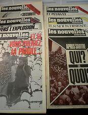 Les Nouvelles Littéraires, 7 revues de 1980, N° 2724… World FREE Shipping*