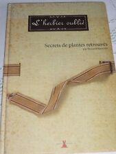 L'Herbier oublié de Bernard Bertrand, éditions Plume de carotte, 9782951662940