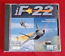 iF 22 RAPTOR SIMULATION PC CD-ROM 2 DISC - Bosnia Theatre and Ukraine Theater