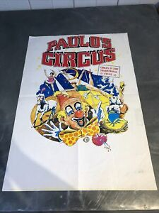 CIRCUS POSTER Paulo's Circus Poster