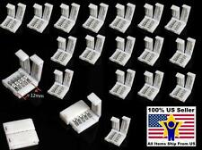 20X Plastic 5-Pin Clip Connector For 12mm 5050 RGBW RGBW LED Strip Light Lamp