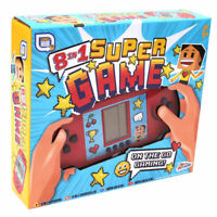 Handheld Games Machine - 8 In 1 Childrens Travel Gaming Toy Kids Fun Age 6+