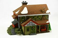 """Department 56 - Heritage Village - """" Bluebird Seed And Bulb """" #5642-1"""