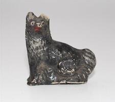 frühe alter Hund Figur für Puppenstube ca. 1870/1900  #F663