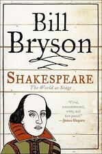 Eminent Lives: Shakespeare : The World as Stage by Bill Bryson (2007, Hardcover)