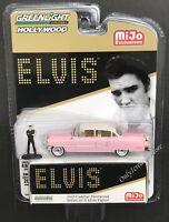 GREENLIGHT 1955 Cadillac Fleetwood Series 60 with Elvis Figure 1:64