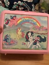 My Little Pony Aladdin Vintage Lunchbox Hasbro 1986