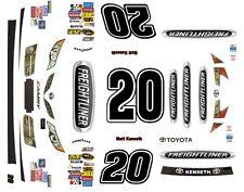 #20 Matt Kenseth Freightliner Toyota 2014-2017 1/24th - 1/25th Scale Decals