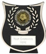 Emblems-Gifts Curve Silver Man of the Match Plaque Trophy With Free Engraving