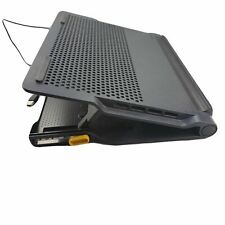 Targus Laptop Chill Mat Plus With 4 Port USB Hub Dual Fans Fits 17 Inch AWE81US