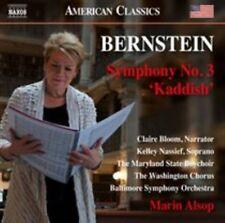 "BERNSTEIN: SYMPHONY NO. 3 ""KADDISH"" NEW CD"
