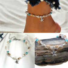Summer Beach Women Barefoot Jewelry Shell Charm Anklet Chain Ankle Bracelet Gift