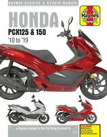 Honda PXC125 PCX150 150EX2 WW125 WW150 Scooter 2010 - 2019 Haynes Manual 6447