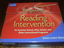 Targeted Reading Intervention Kit (Level 8) by Teacher Created Materials