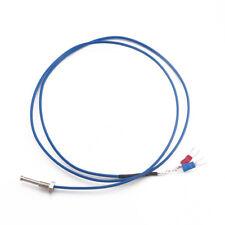 PTFE 1 Meter K-Type Screw Thermocouple Temperature Controller Sensor Probe 6mm