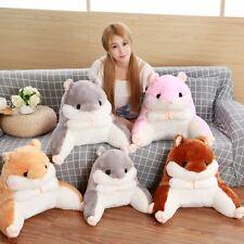 Soft Animals Waist Pillow Hamster Office Lumbar Pillow Lunch Break Cushions Gift