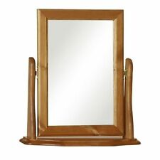 Unbranded Pine Frame Rectangle Decorative Mirrors