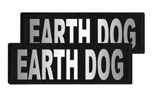 Earth Dog Patch Patch Reflective Extra Label Tag for Dog Harness