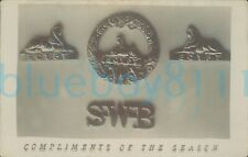 More details for south wales borderers photo of nco badges cap shoulder & collar ww1 christmas gr
