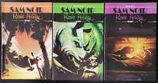 Sam Noir: Ronin Holiday #1-3 (2007, Image) 2 Complete Set Shadowline