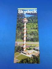 POSTCARD SKYDECK LANSDOWNE ONTARIO VIEW OF THE 1000 ISLANDS ST LAWRENCE RIVER