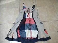 DESIGUAL  jolie robe patchwork taille 38