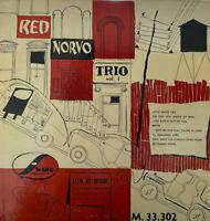 """VERY RARE JAZZ 10"""" RED NORVO TRIO VOL 1 OG FRENCH VOGUE SWING M 33.302"""