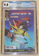 AMERICA #8 CGC 9.8 Lenticular AMAZING SPIDER-MAN #39 Cvr Homage !!