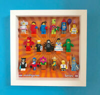 LEGO Minifigure Display Frame Case for Series 18 Minifigs