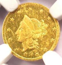 1870 Liberty California Gold Dollar G$1 BG-1202 R5 - NGC MS62 - $3,000 Value!