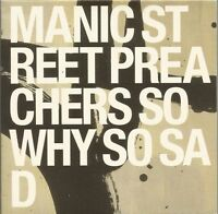Manic Street Preachers - So Why So Sad promotional CD single