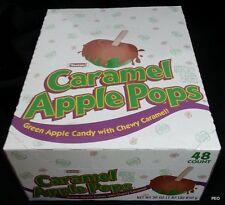 Tootsie Caramel Apple Pops Suckers Candy Lollipops Bulk Green Apple 48 Count Box
