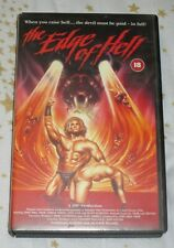 The Edge of Hell (1987) VHS Video - aka Rock 'n' Roll Nightmare - Jon Mikl Thor