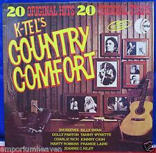 Vinyl LP 12'' Album 'K-Tel's Country Comfort' 20 Original Hits,1976 K-Tel NE-924