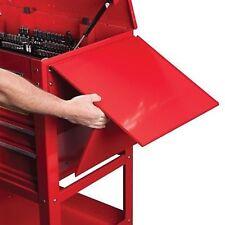 Fold Up Down Side Tray Work Shelf for Mechanics Mobile Tool Box Rollaway Storage