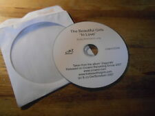 CD pop The Beautiful Girls-in Love (1) canzone PROMO crownn Rec disc only