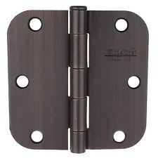 "3.5"" Oil Rubbed Bronze Door Hinges 5/8"" Radius Hinge 3558-ORB 3-1/2"