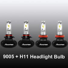 4x 9005+H11 LED Headlight Bulbs High Low Beam 240W 36000LM Fog 6000K 9145 H8 H9