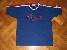 Vtg Montreal Expos Baseball STARTER Jersey Shirt STITCHED Sewn MLB RARE L XL